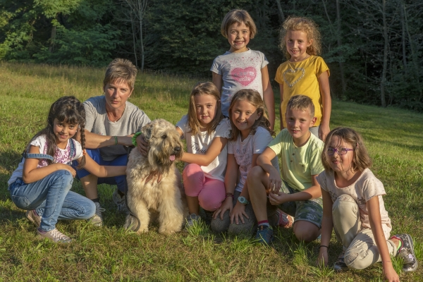 pet therapy soft coated wheaten terrier